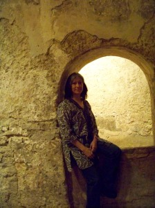 At the site of the baths of the palace in Córdoba, Spain--during visit in fall of 2008.